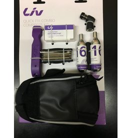 LIV BAG GIANT LIV Quick Fix Compress Kit Patch/ Multitool/Tirelevers/CO2