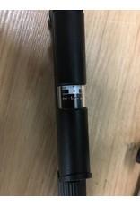 PUMP FRAME Topeak Road Morph Frame Pump with Gauge: Silver/Black