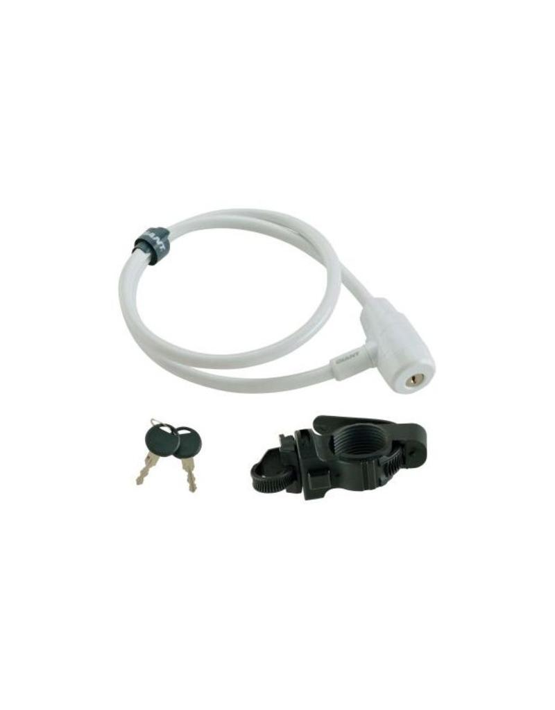 Giant GIANT SureLock Straight Cable Lock 10mm x 90cm White