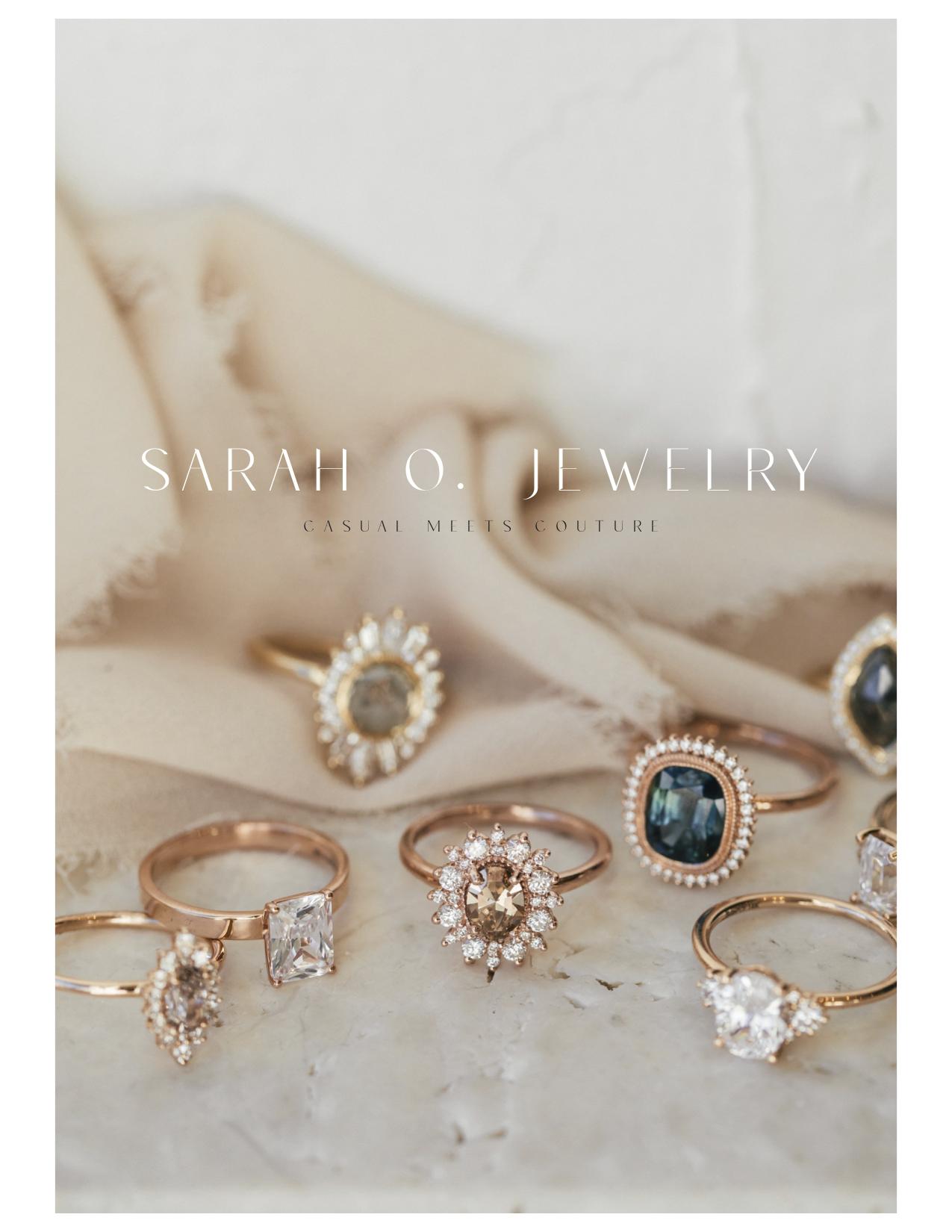 Sarah O. 2020 Brand Lookbook Cover