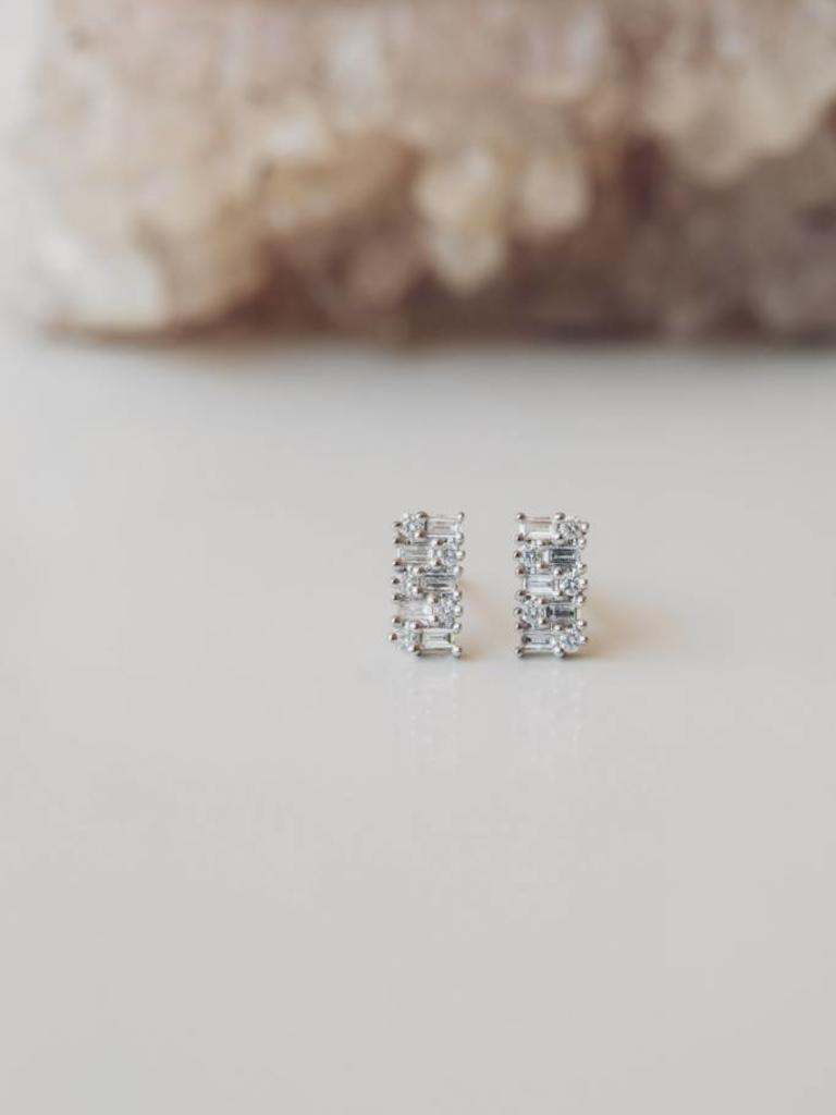 7a8bea75e Baguette Cluster Diamond Studs - Sarah O.