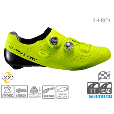 Shimano SH-RC900 ROAD SHOES Range inc. E-width S-PHYRE 43