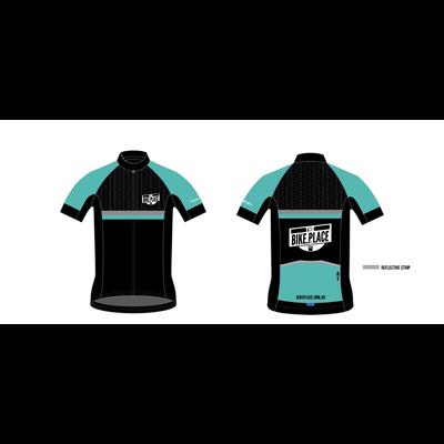 Bike Place Teal Kit Top Mens 2XL