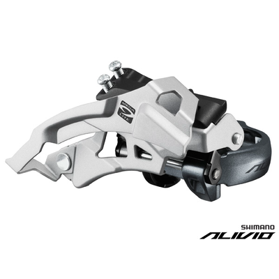 Shimano FD-M4000 FRONT DERAILLEUR LO-CLAMP DUAL PULL 66-69 for 40-30-22T