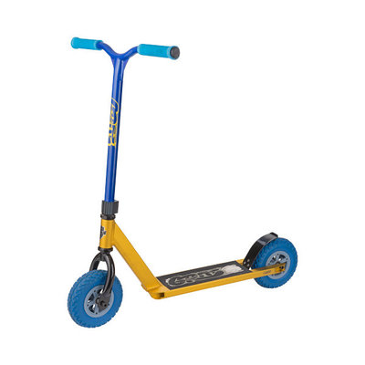 D1 Gold / Blue Dirt A/T Scooter