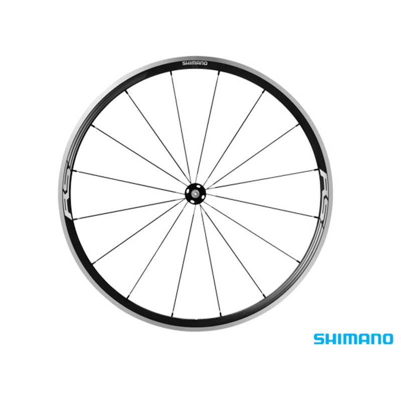 Shimano WH-RS330 FRONT WHEEL 700C BLACK CLINCHER