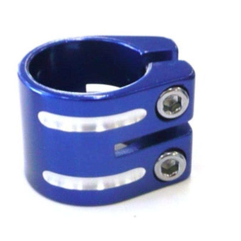 Defiant S/clamp 33.3mm BLUE no lip
