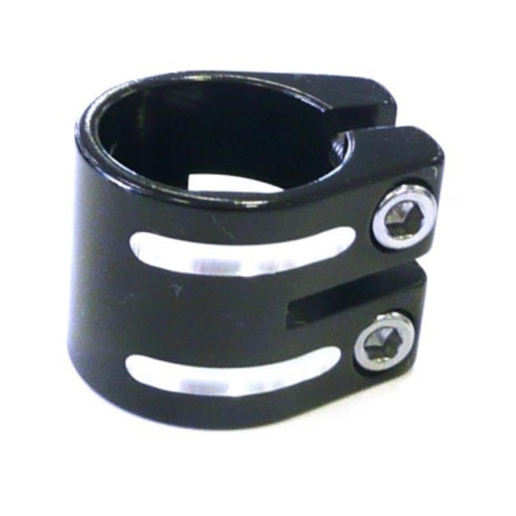 Defiant S/clamp 33.3mm BLACK no lip