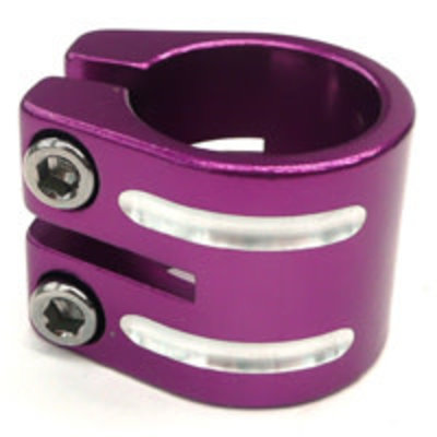 Defiant S/clamp 34.9mm PURPLE