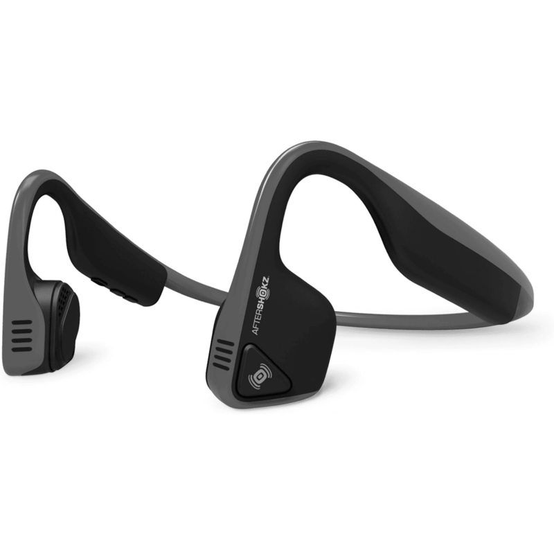 AFTERSHOKZ TREKZ TITANIUM WIRELESS HEADPHONES GRAY