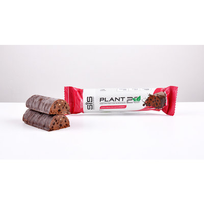 SIS **SIS PLANT 20 DARK CHOCOLATE RASPBERRY BAR
