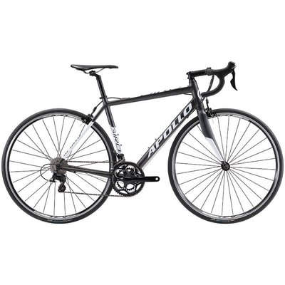 Apollo APOLLO Giro 30 Matte Black/Gloss White M