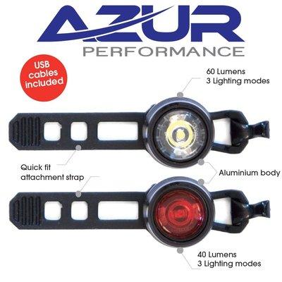 AZUR AZUR CYCLOPS 2 USB LIGHT SET