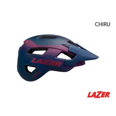 Lazer HELMET LAZER - CHIRU MATTE BLUE PINK MEDIUM