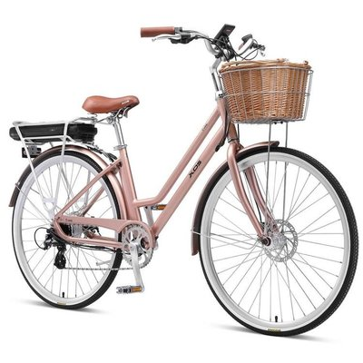 XDS XDS RETRO HUB-DRIVE E-BIKE ROSE GOLD