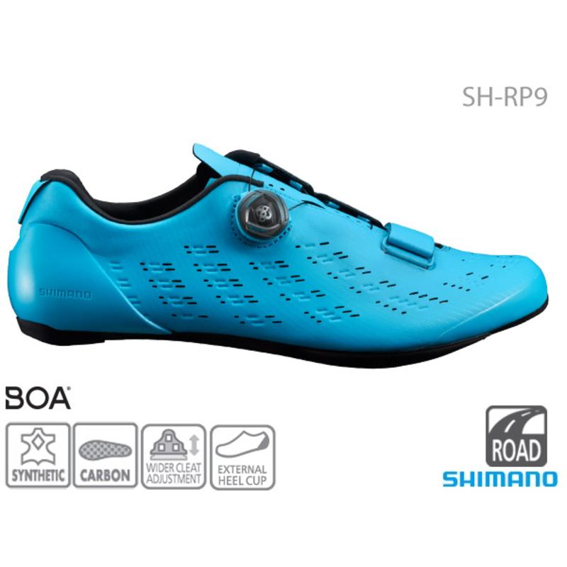 Shimano **SH-RP901 ROAD SHOE BLUE 42