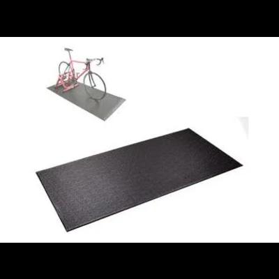 Matt for indoor Trainer, PVC material, 195cm x 90cm x 6mm, Black.