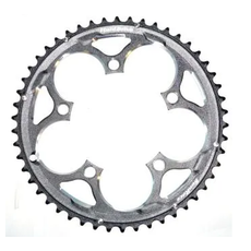 CHAIN RING 50T x 110 BCD, For 8/9/10 Speed, Alloy, BLACK