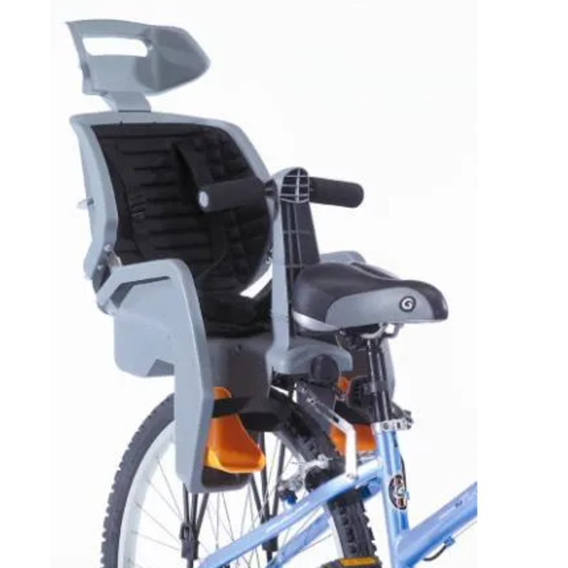GREY Beto Deluxe, Suits 700C Disc Bikes, 3 Point Safety Harness, Includes BLACK Rack