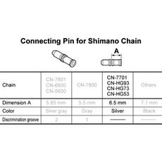 Shimano 9 Speed Chain Conn pin