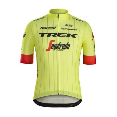 Trek Jersey Santini Trek-Segafredo Replica Medium Yellow