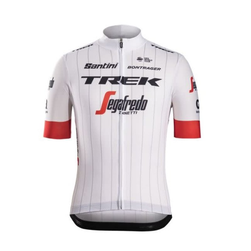 Trek **Jersey Santini Trek-Segafredo Replica Large White