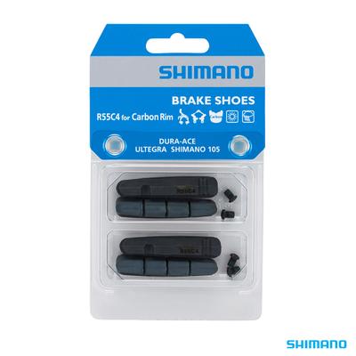 Shimano BR-9000 BRAKE PAD INSERTS R55C4 for CARBON RIM 2 PAIR