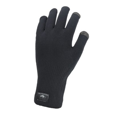 SEALSKINZ WP ULTRA GRIP GLOVE BLK M