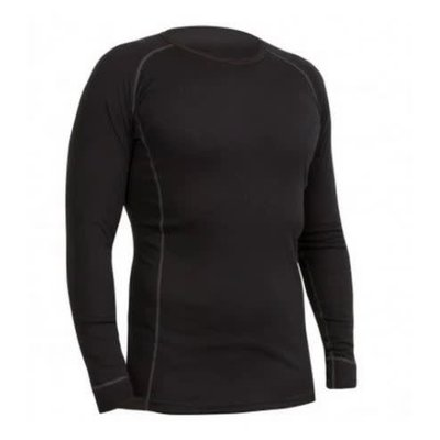 THERMOLITE MERINO TOP BLK SM