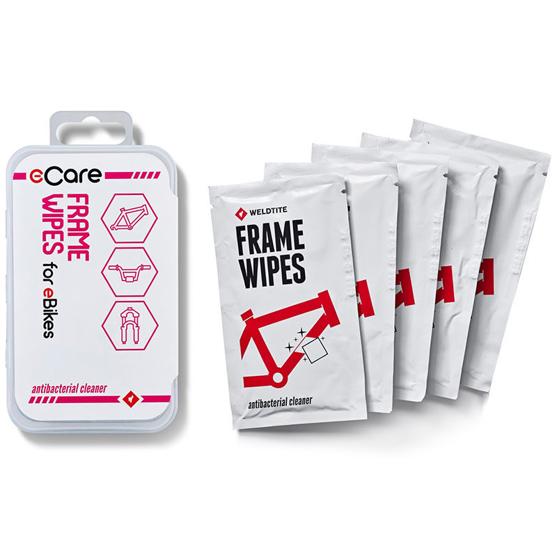 Weldtite eCare Frame Wipes 5 Pack