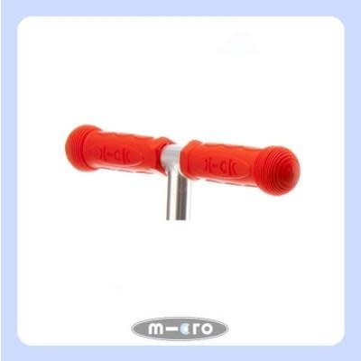 Micro Micro Rubber Grips RED