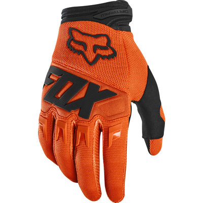 FOX DIRTPAW GLOVE - RACE FluOrg  M