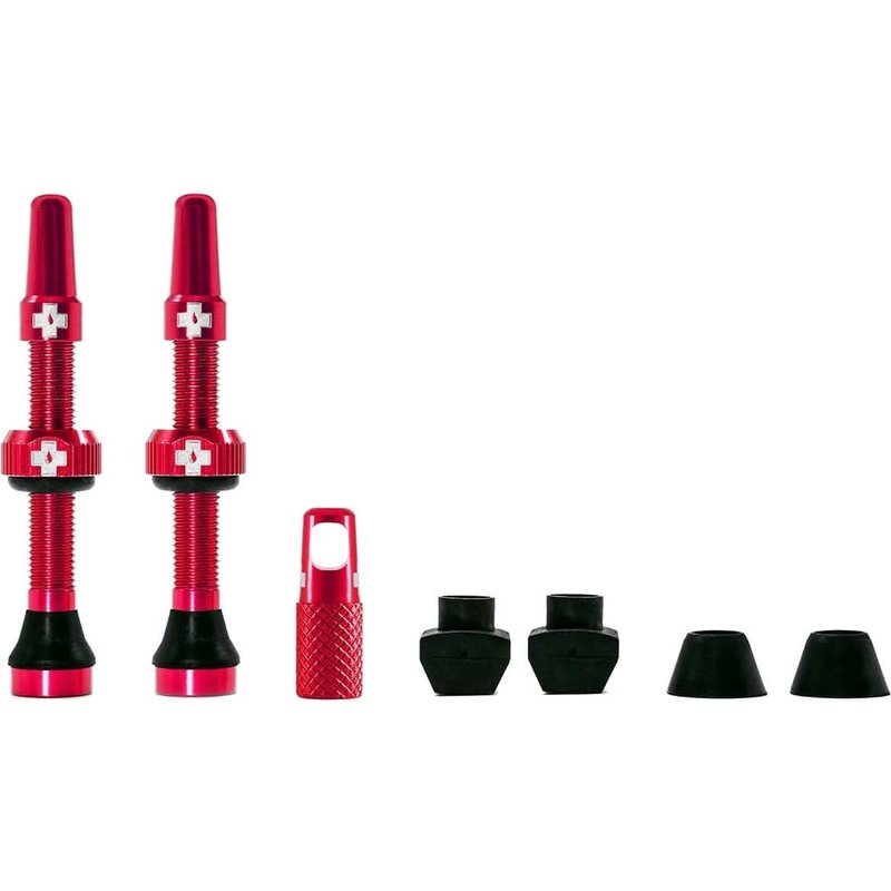 MUC-OFF Muc-Off Tubeless Valve Kit 44mm RED