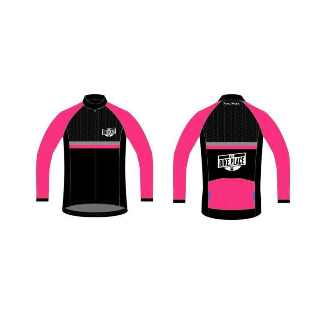 Bike Place **BIKE PLACE JACKET PINK L Mens