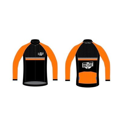 Bike Place BIKE PLACE JACKET ORANGE L Mens
