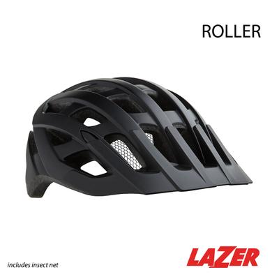Lazer HELMET LAZER - ROLLER MATTE BLACK W/NET MED