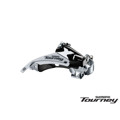 Shimano FD-TY500 FRONT DERAILLEUR TOURNEY LO-CLAMP DUAL PULL for 42T 66-69