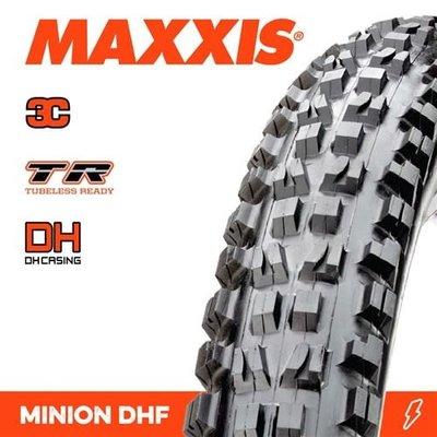 MAXXIS MINION DHF 29 X 2.50 WT DH 3C GRIP TR FOLD 60X2TPI