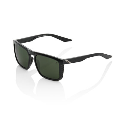 Renshaw - Gloss Black - Grey Green Lens