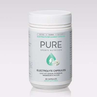 PURE PURE Electrolyte Replacement Capsules 80pk