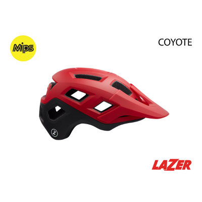 Lazer HELMET LAZER - COYOTE MIPS - Range RED L