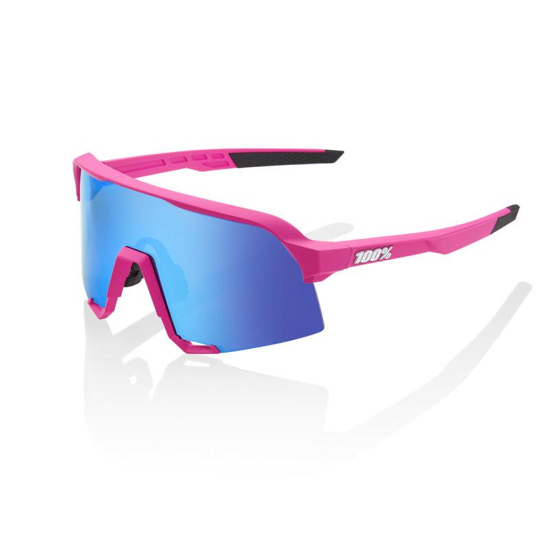 100% 100% S3 - Pink - HiPER Blue Multilayer Mirror Lens