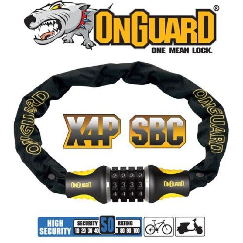 ONGUARD ONGUARD Mastiff Chain Lock 120cmx4mm