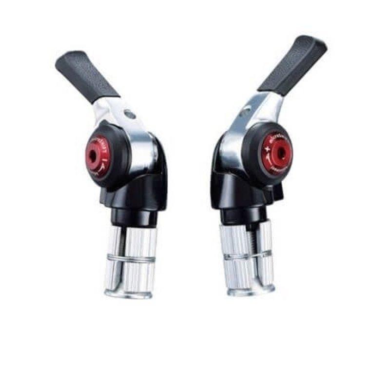Microshift BAR END SHIFTER 2/3X10SP ALLOY R/L