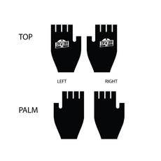 Bike Place Fingerless Gloves S