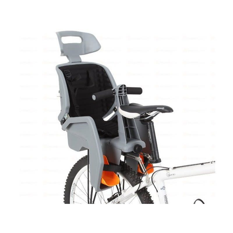 "GREY Beto Deluxe, Suits 26"" ONLY Disc Bikes, 3 Point Safety Harness, Includes BLACK Rack (26"" ONLY)"