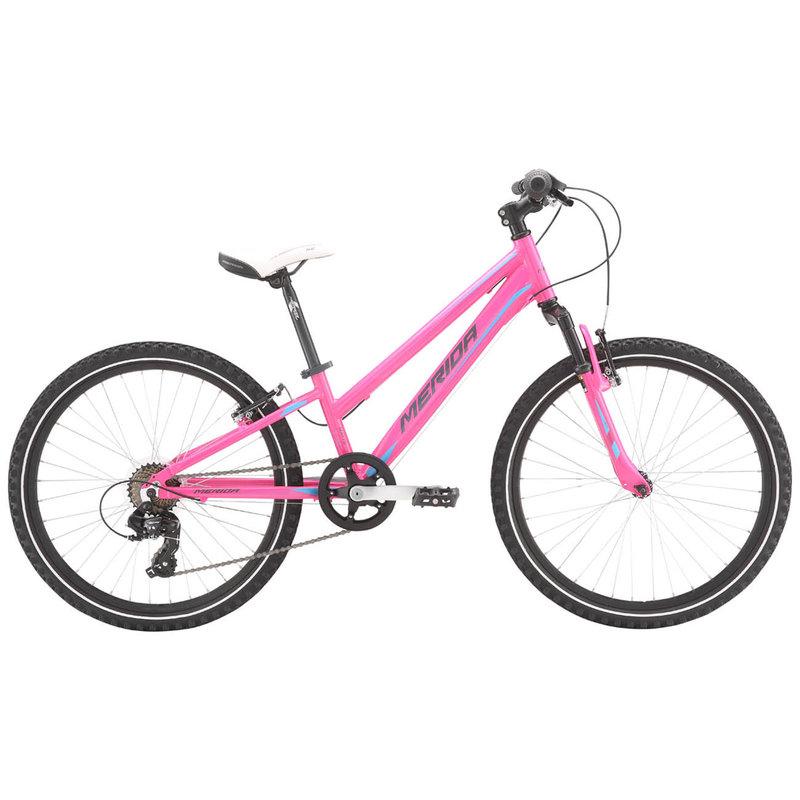 Merida 21 Matts J24 Girls Pink (Barbie Blue/Grey)