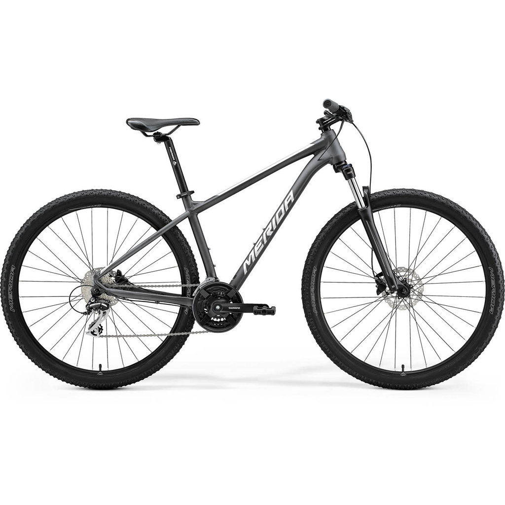 Merida 21 BIG NINE 20 2X - MATT ANTHRACITE (SILVER)