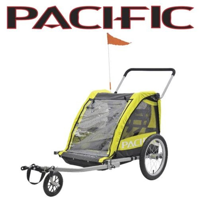 Pacific Pacific 2 In 1 Trailer/Walker - 2 Child