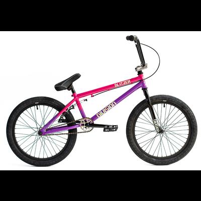 "Division Division Blitzer 20"" Complete Bike Pink/Purple Fade"